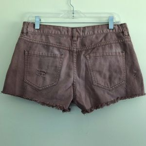 Free People Shorts - Free People Distressed Shorts